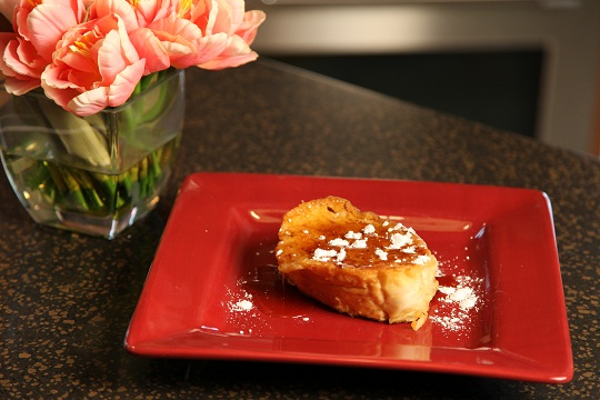 Vickie's Pineapple Cream French Toast
