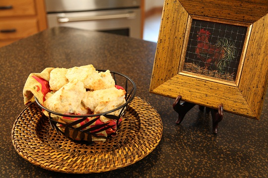 Vickie's French Onion Drop Biscuits