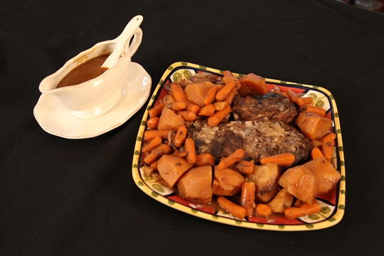 Mom's Sunday Pot Roast Recipe