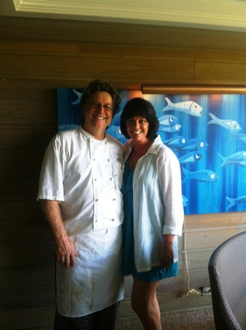 Vickie Meets Chef Alexander Stanislaw