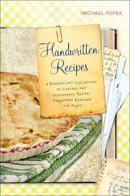 """""""Handwritten Recipes"""" by Michael Popek"""