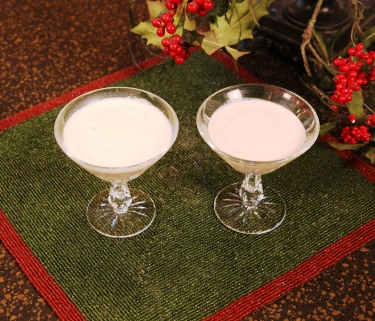 Eggnog Alexander Holiday Drink Recipes