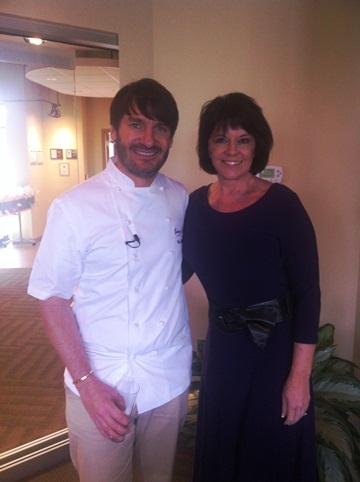 Vickie Meets Chef Eric Lanlard