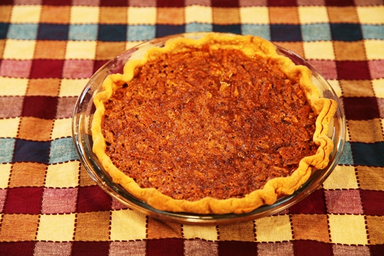 Mom's Old Fashioned Pecan Pie