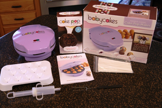 Contest Closed   Babycakes Cake Pop Maker Giveaway!