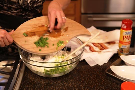 Adding onion to Twice Baked Potato Casserole
