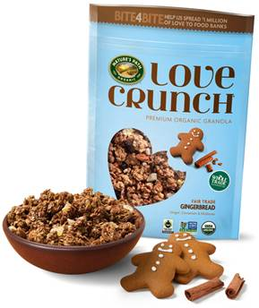 ****Contest Closed*****Gingerbread Love Crunch Giveaway!!