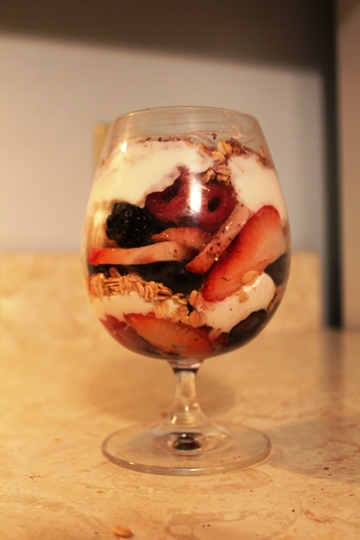 Very Berry Yogurt Parfait