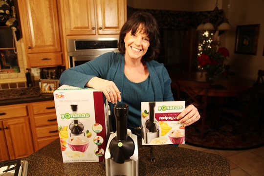 Yonanas Machine and Vickie