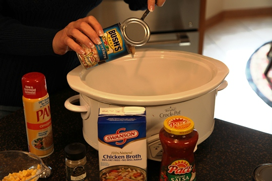 Adding beans to Southwestern Chicken Soup