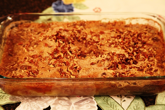 Apple Spice Cake Pudding: Easy Apple Crisp Recipe
