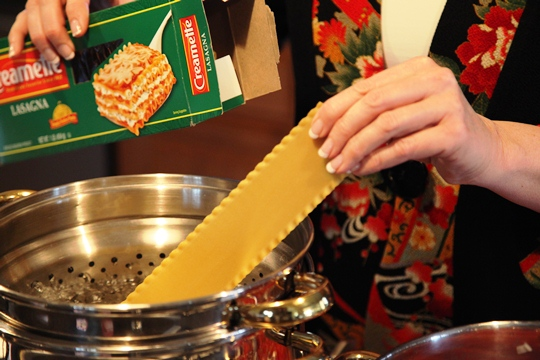 Cook Lasagna Noodles
