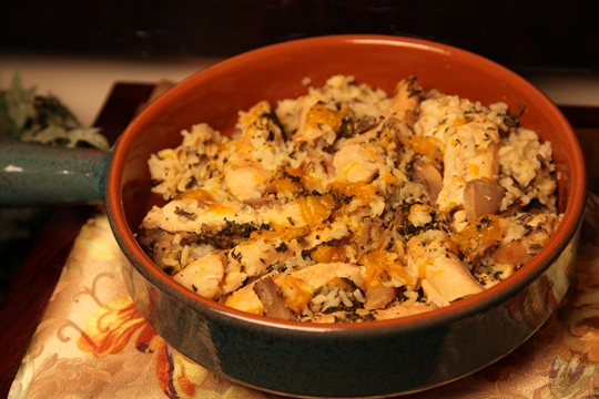 Mandarin Orange Chicken and Wild Rice