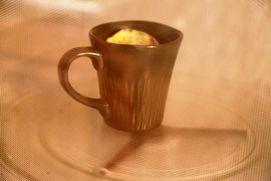 Microwave Omelet In a Mug 1