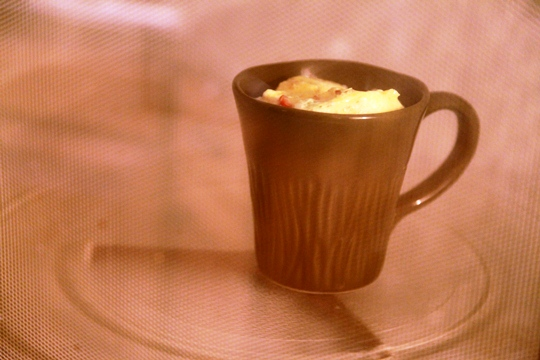 Microwave Omelet In a Mug 2