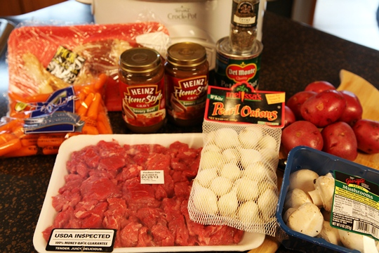 Provencal Beef Stew Ingredients