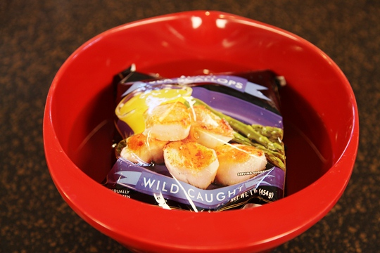 Quick Thaw Scallops