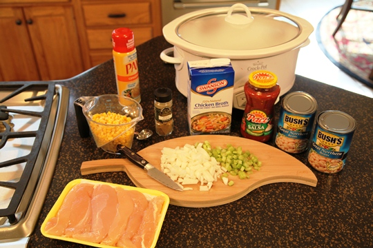 Southwestern Chicken Soup Ingredients