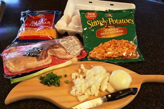 Vickie's Hearty Breakfast Skillet Ingredients