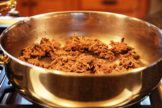 Brown Ground Beef