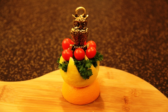 Citrus Topiary Garnish