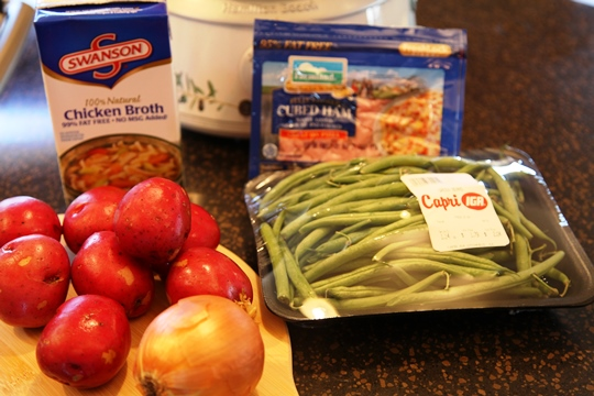 Crock Pot Green Beans Ingredients