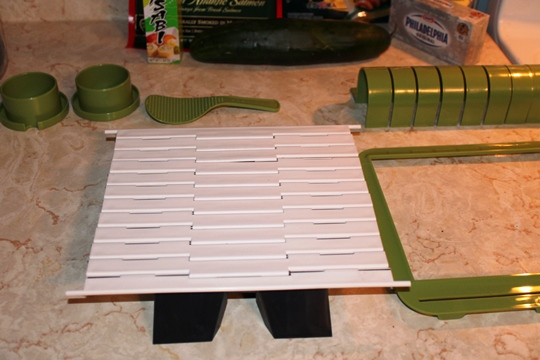 Making Sushi with Sushi Quik Kit
