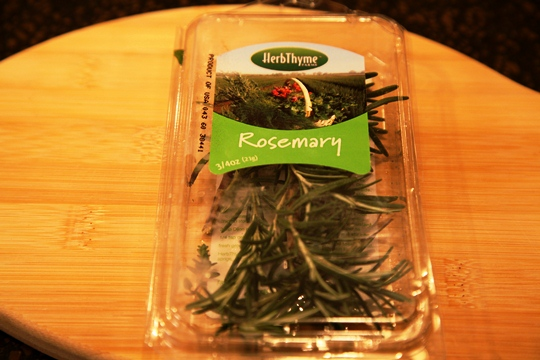 Package of Fresh Rosemary