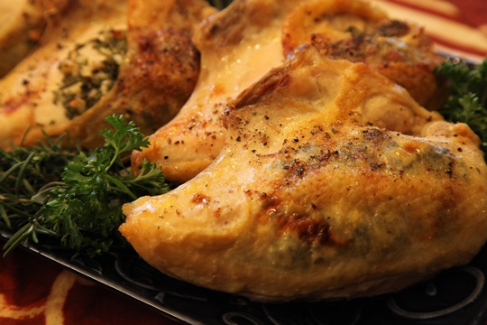 Parsley Sage Rosemary Thyme Baked Chicken Breast