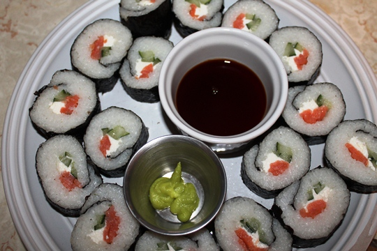 Sushi Made With Sushi Quik Kit