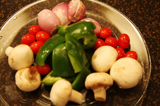 Vegetables for Kabobs