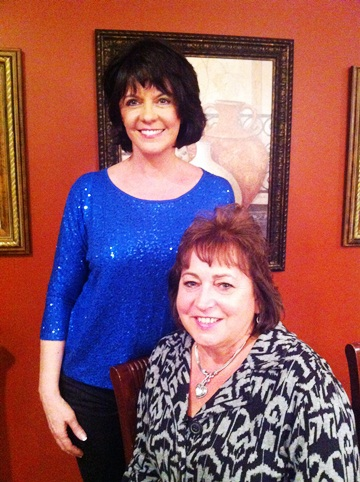 Vickie and Cindy Wagner, Midwest Director for DCD