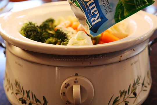 Add Ingredients to Crock Pot