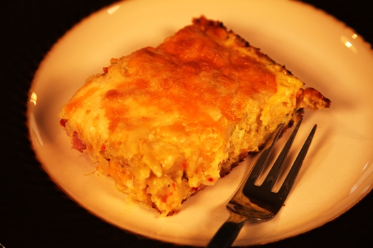Enjoy Sunrise Breakfast Casserole