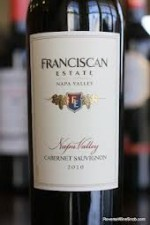 Franciscan Estate Napa Valley Cabernet Sauvignon 2010