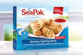 CONTEST CLOSED SeaPak Shrimp Spring Rolls