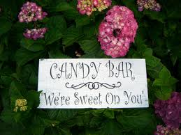 Candy Bar  We're Sweet on You