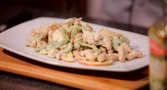 Creamy Apple Walnut Chicken Salad Recipe