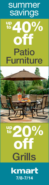 Savings on Patio Furniture and Grills