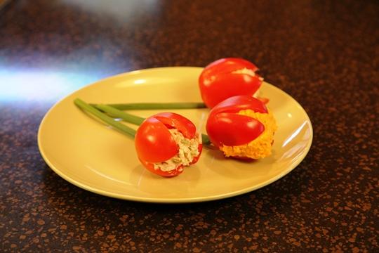 Tomato Tulip Salads