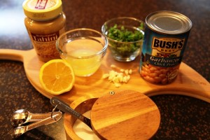 Ingredients for Hummus Recipe