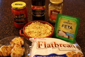Mediterranean Appetizer Platter Ingredients