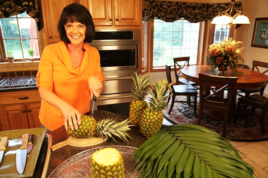 Making the Pineapple Palm Tree