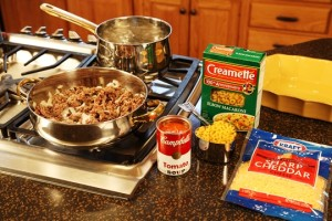 Baked Goulash Ingredients