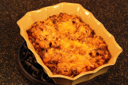 Goulash Baked Pasta Recipe
