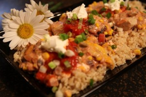 Fiesta Crockpot Chicken