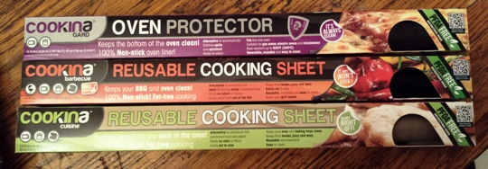 Cookina:  Cooking sheet for BBQ & Oven!