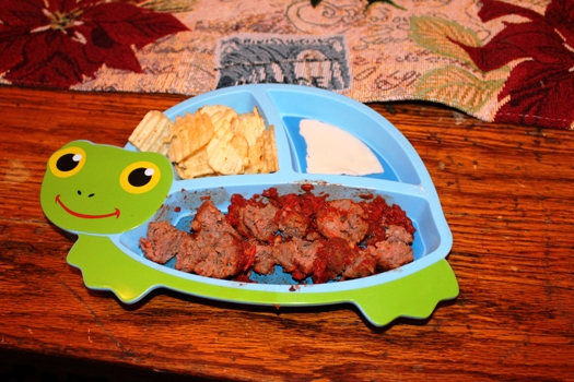 Lunch Meatballs for Kids
