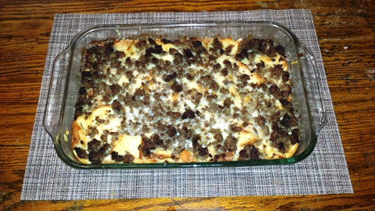 Sausage and Egg Casserole Beauty