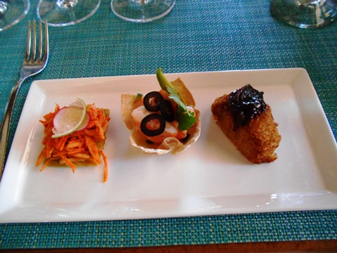 Food at Wine Tasting 1